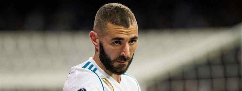 El jugador que echa a Karim Benzema del Real Madrid (y ya está hecho)