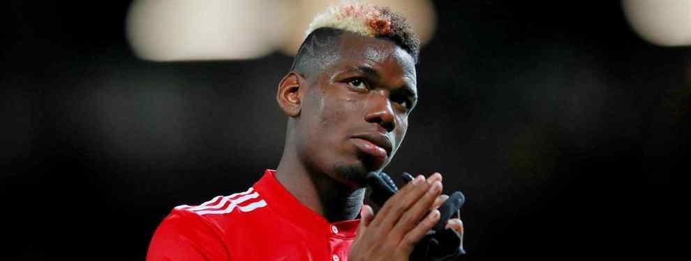 Mourinho pide un crack del Barça a cambio del traspaso de Pogba