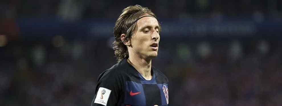 Florentino Pérez señala al gran culpable de la espantada de Modric en el Real Madrid