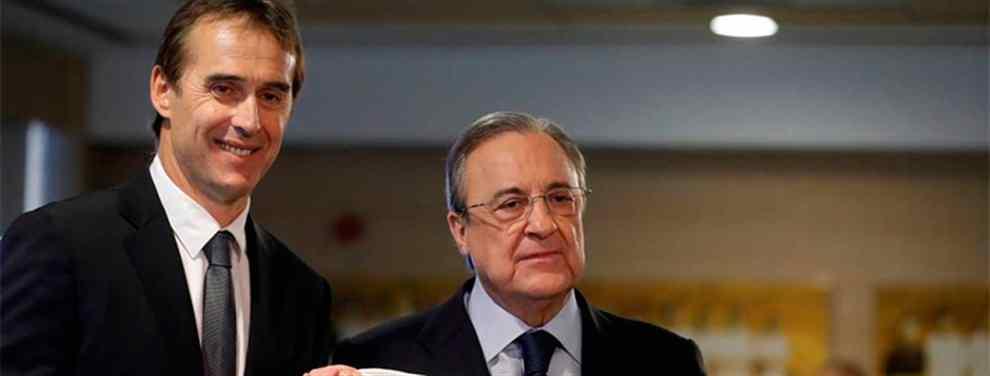 ¡Primer lío entre Lopetegui y Florentino Pérez! Y hay sorpresa (y de las gordas) en el Real Madrid