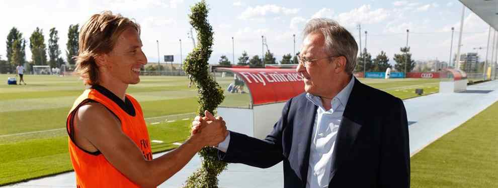 Llamada a Florentino Pérez: el crack que se ofrece para ser el recambio de Modric en el Madrid