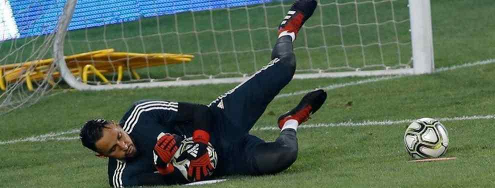Keylor Navas recibe una oferta de última hora para dejar el Real Madrid