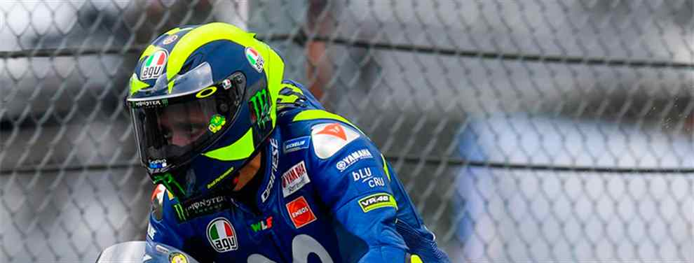 Valentino Rossi incendia Yamaha en Austria (con Jorge Lorenzo de por medio)
