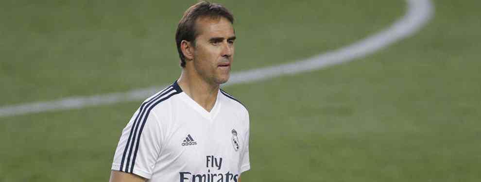 Julen Lopetegui, el técnico del Real Madrid, ya ha puesto sus peticiones sobre la mesa del máximo dirigente de la entidad madridista, Florentino Pérez, para dar por cerrada la plantilla