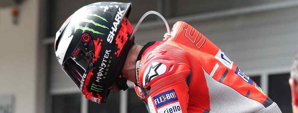 La firma italiana calla de puertas a fuera, pero en MotoGP se sabe: en Ducati se arrepienten de haber apostado por Dovizioso en lugar de un Lorenzo exultante que se irá con viento fresco a Honda a final de curso.