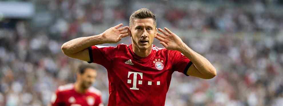 Lewandowski tiene precio: Florentino Pérez ya sabe cuánto pagar por el '9' del Bayern