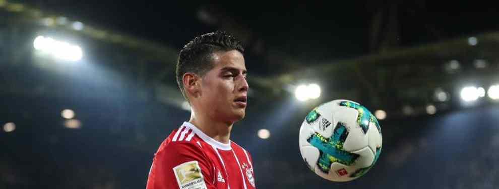 Más problemas para James Rodríguez: La advertencia de Kovac que lo aleja del Bayern