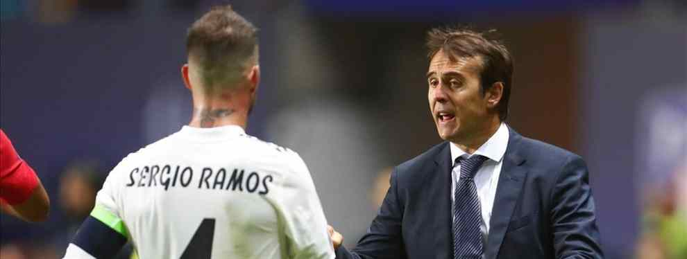 Sergio Ramos convence a Lopetegui para darle más peso a un jugador del Real Madrid