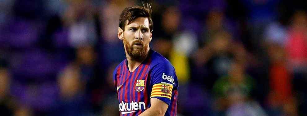 Leo Messi, el crack argentino del Barça que entrena Ernesto Valverde, sabe muy bien que la entidad barcelonista está pendiente de una operación sorpresa para antes del cierre del mercado