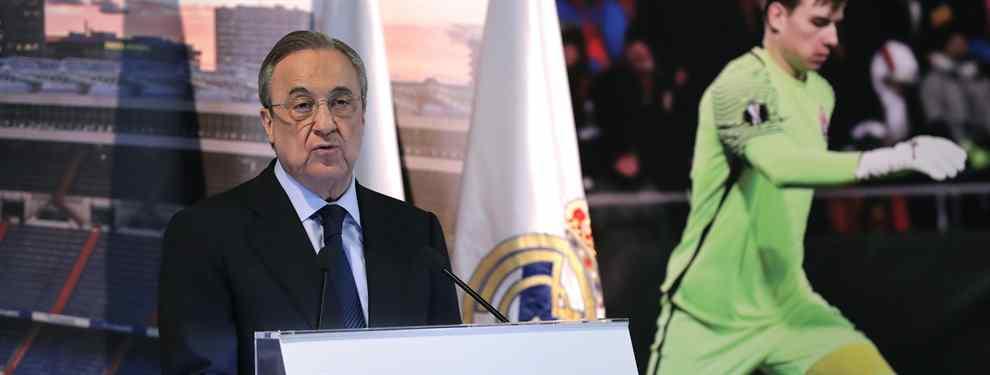 Florentino Pérez le pide a un estrella que espere al Real Madrid hasta enero