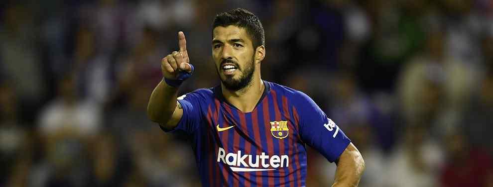 Florentino Pérez sabe que el Barça tiene un crack en cartera para reemplazar a Luis Suárez la próxima temporada. Se trata de una estrella mundial para ser el nuevo '9'.